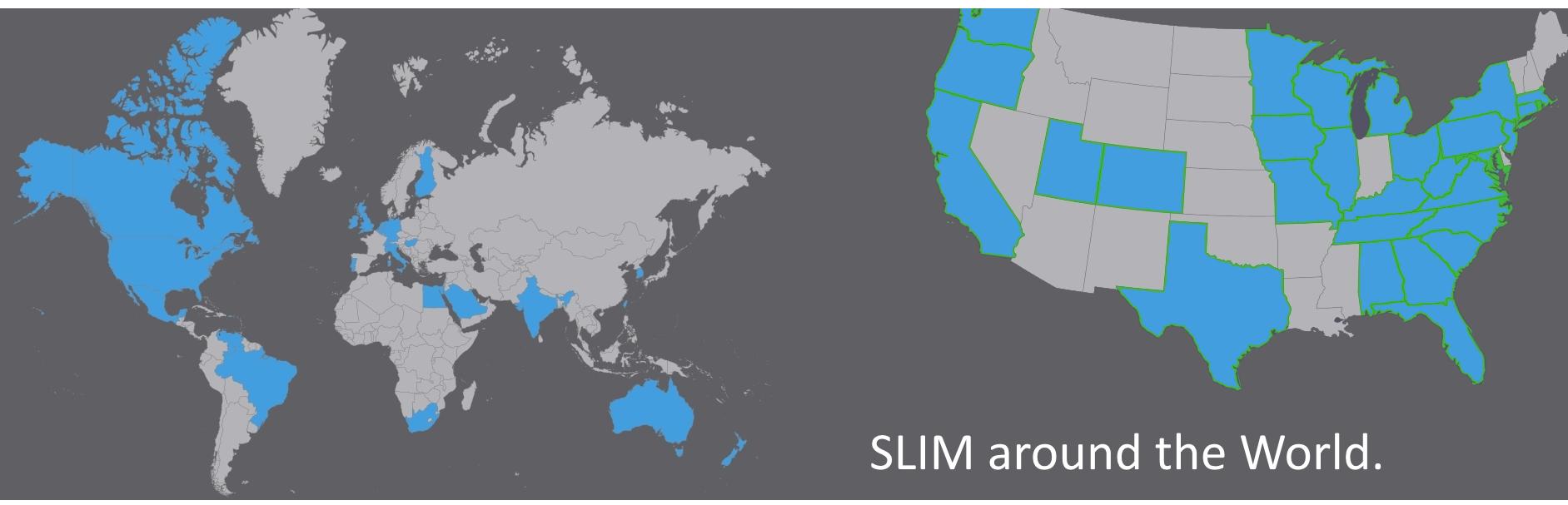 SLIM Around the World